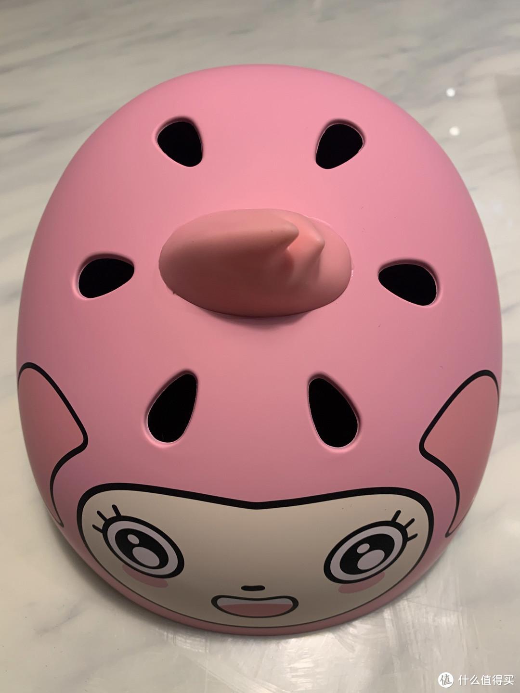 头盔,粉色的,女儿很喜欢