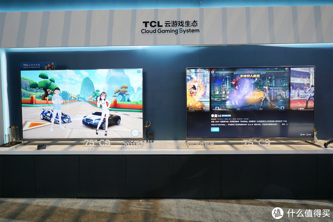 2021值选AWE | TCL发布游戏智屏C9 搭载雷鸟科技智屏系统UI5.0