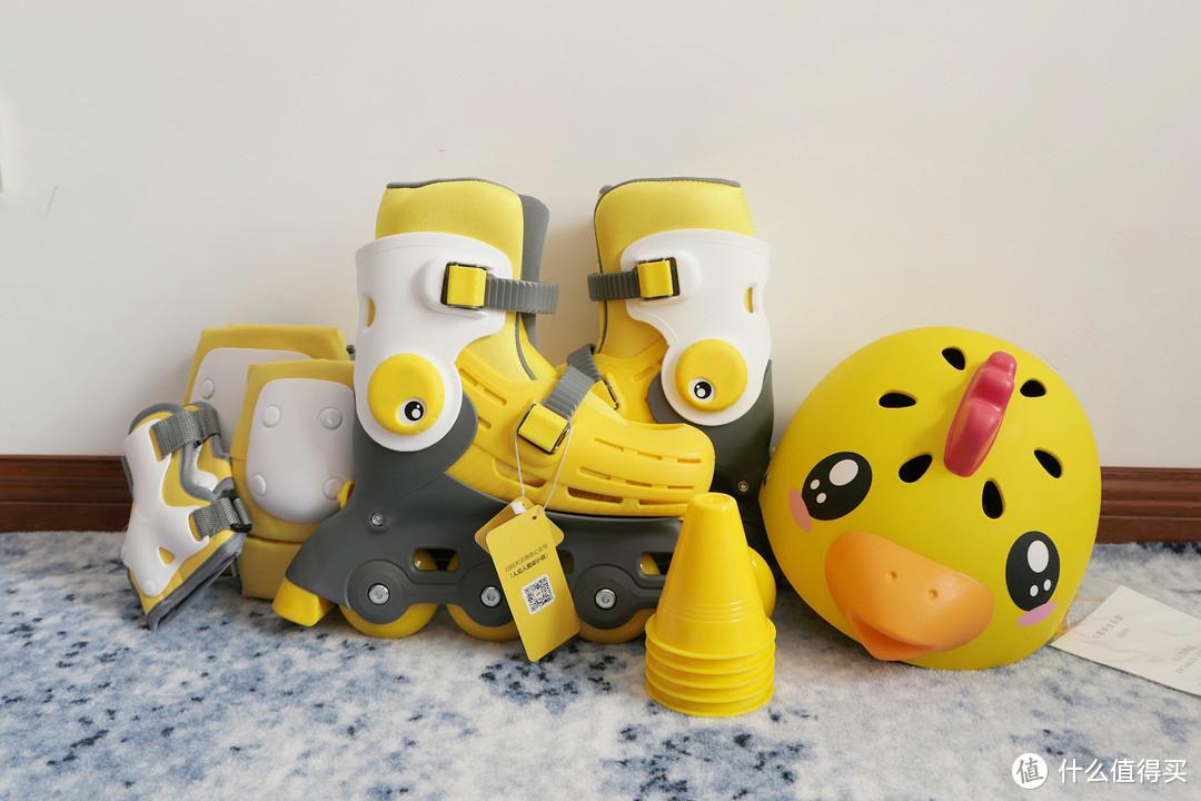 二胎家庭轮滑首选装备——『柒小佰小怪兽儿童轮滑鞋』满足你的遛娃需求
