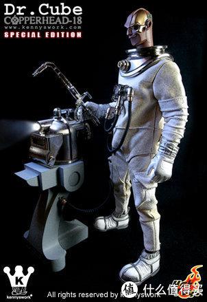Copperhead-18 潜水员第三款 Dr. Cube 限定白色(图片来自网络)