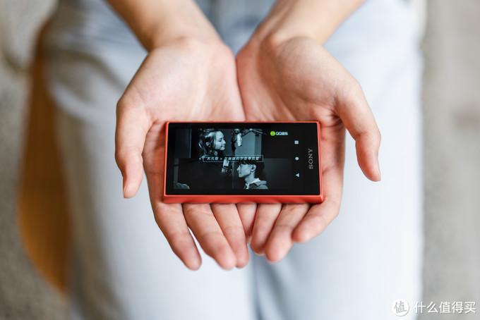 索尼 NW-A105丨喜欢是,捧在手心的感觉