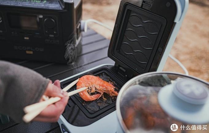 露营烹饪新体验:为了这次烹饪,我入手了一款户外电源