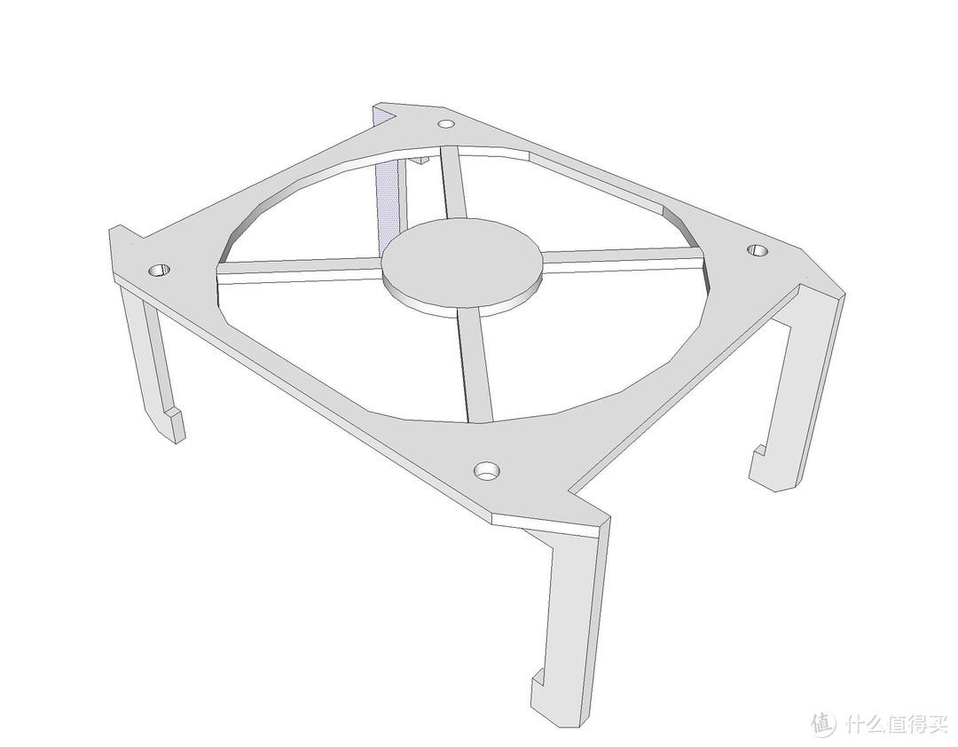 3D打印改变生活——利用3D打印机制作风扇支架