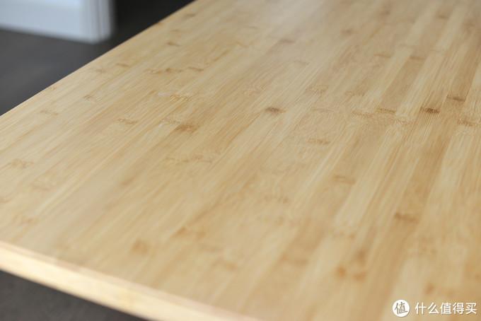 DIY竹桌板电动升降桌