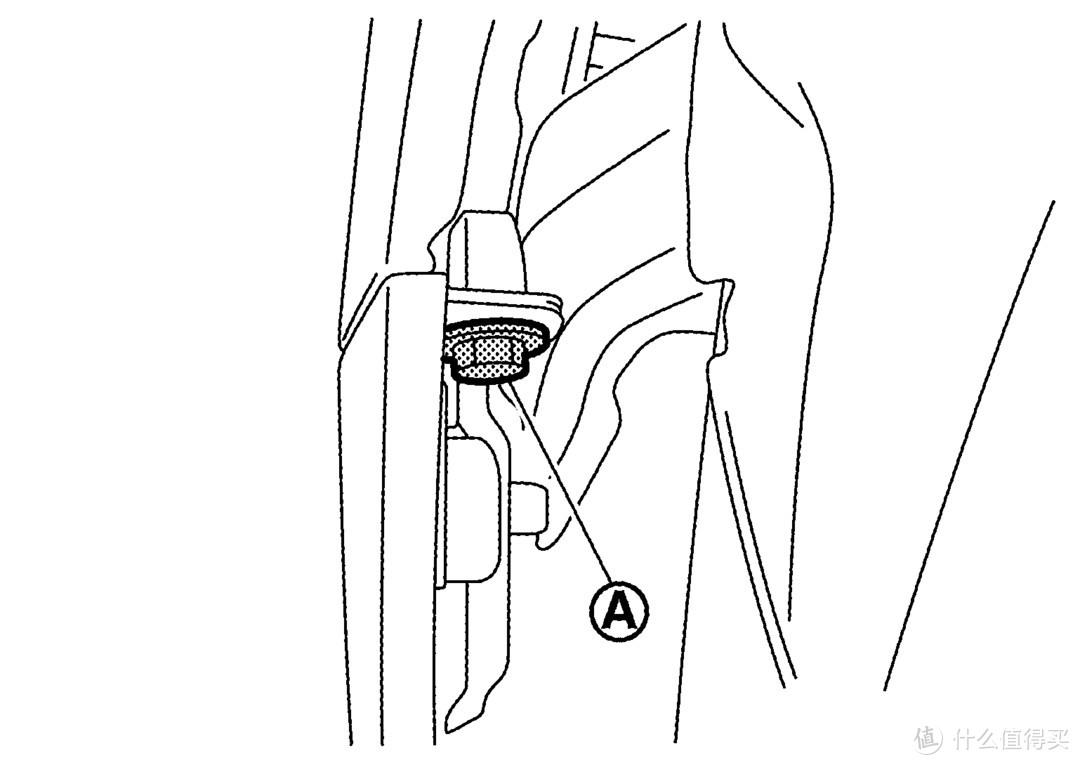 掀开轮拱罩后拆下前保险杠饰板固定螺钉