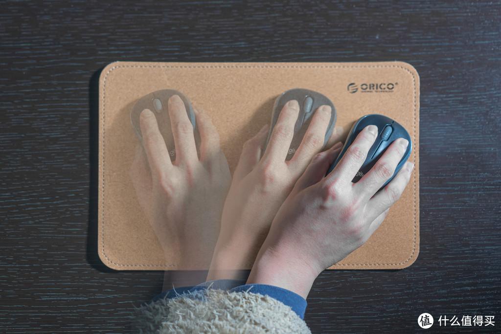 说一说使用感受吧,作为家庭或者办公使用,除了较高的颜值之外,手感也是相当不错的。用手指轻触表面,也能感受到微微发涩,鼠标操作时更加舒适精准,比以前的布面鼠标垫感受要强上许多。鼠标快速移动,起始和收尾也都算得上精准。唯一一点的不足,是因为我选择的这款鼠标垫较小,鼠标高速移动时,鼠标垫与桌面会产生少许移动。当然,这种情况在家庭和办公使用时很难遇到,如果真的进行竞技项目等要求较高的动作时,选用中号或者大号的鼠标垫便会避免上述的问题。