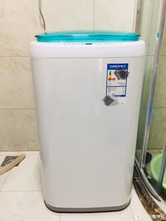 小小洗衣机 大大幸福感 海尔2kg迷你洗衣机
