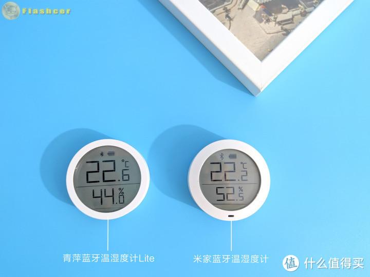 外观虽小巧但功能强大,可立可贴,青萍蓝牙温湿度计Lite体验