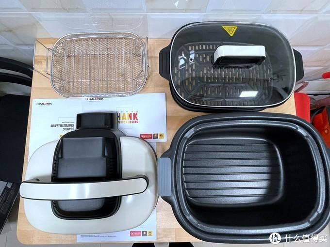 公寓神器,多功能锅、空气炸锅和多功能空气炸蒸炖锅怎么选