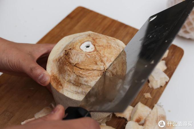 不要再把喝完的椰子直接扔掉了,椰肉也是宝~