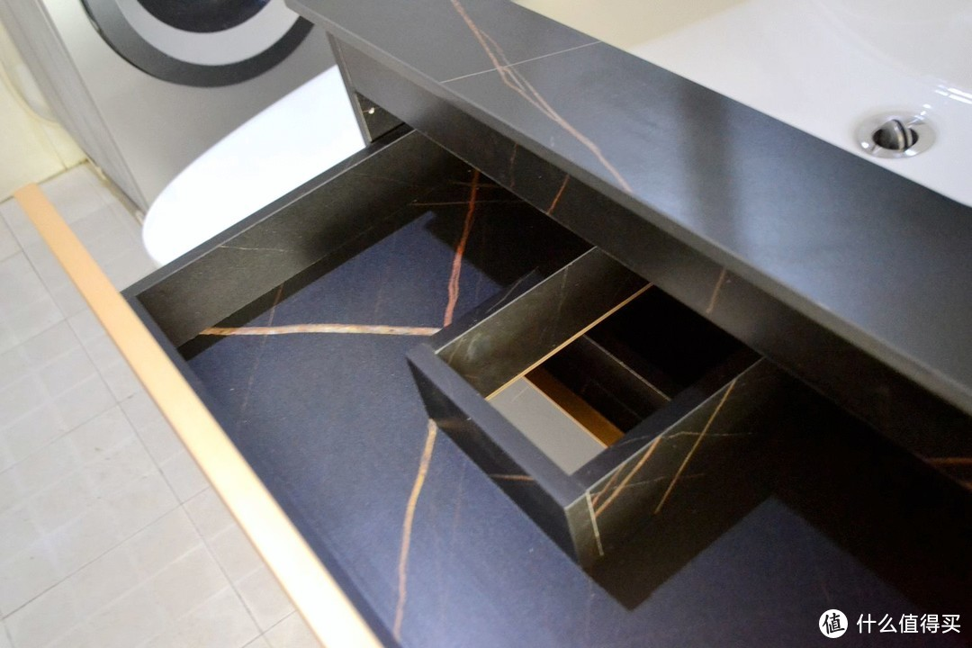 选错浴室柜,入住才发现各种坑!浴室柜太贵是不是智商税?入手希箭岩板浴室柜谈谈感受
