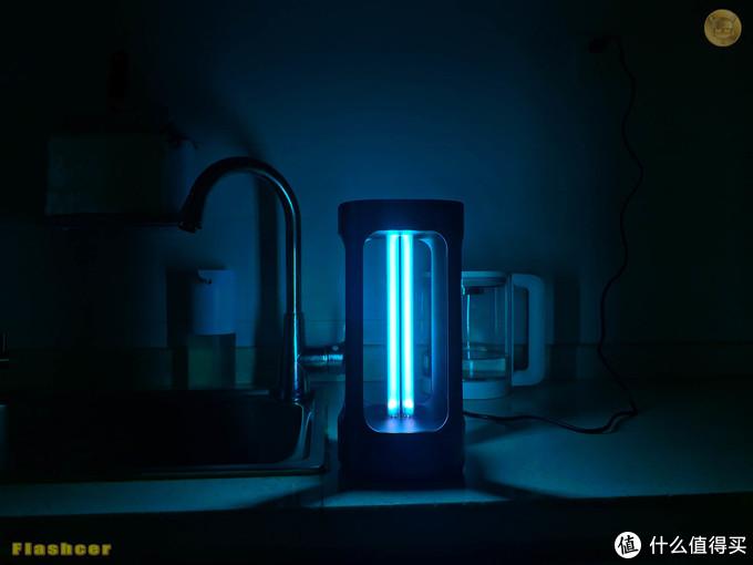 人体感应+语音+触控操作+米家APP:FIVE智能消毒杀菌灯