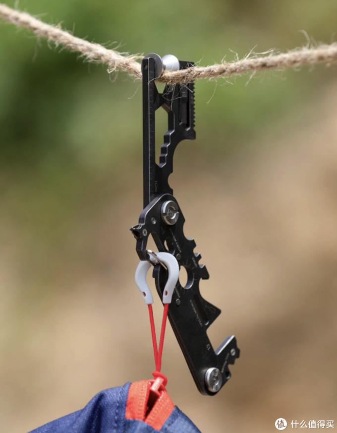 小米有品发布反射镜面多功能miniEDC工具,小身材拥有28种功能,春游必备!
