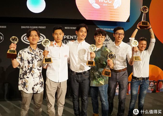 2019年的拉花赛决赛,涌现三位中国选手。