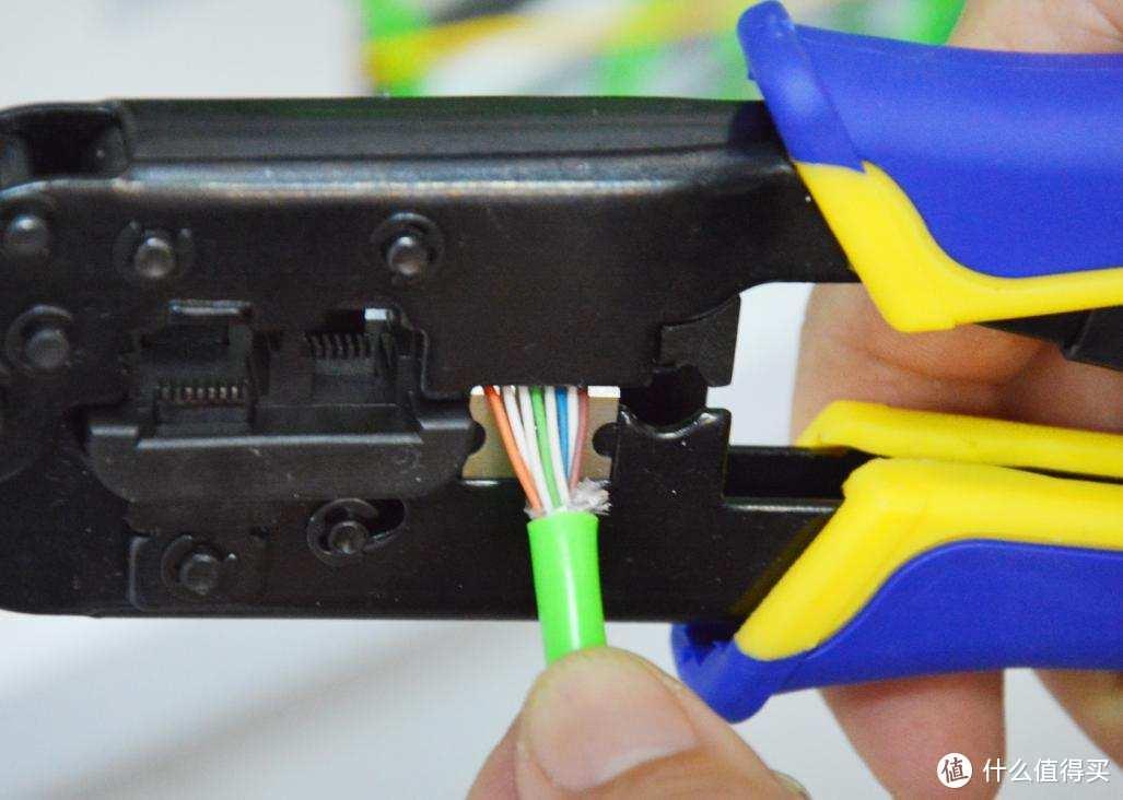 家装网线自己搞定,毕亚兹多功能网线钳精准卡位,安装快捷