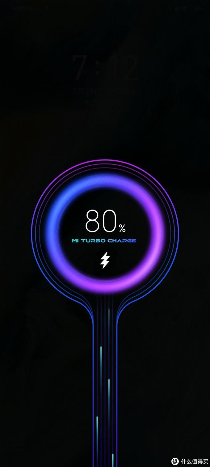 因为是针对小米系做的产品,识别速度相当快。一秒左右即可识别小米的mi turbo charge,开启最快的充电速度。