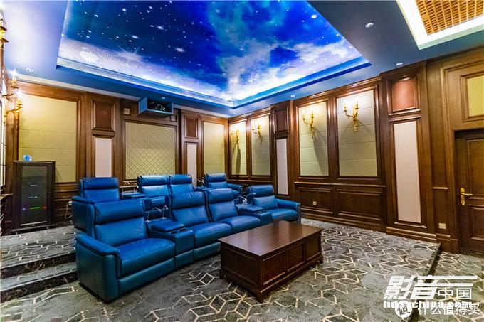 顶级豪宅里的轻奢私家影院