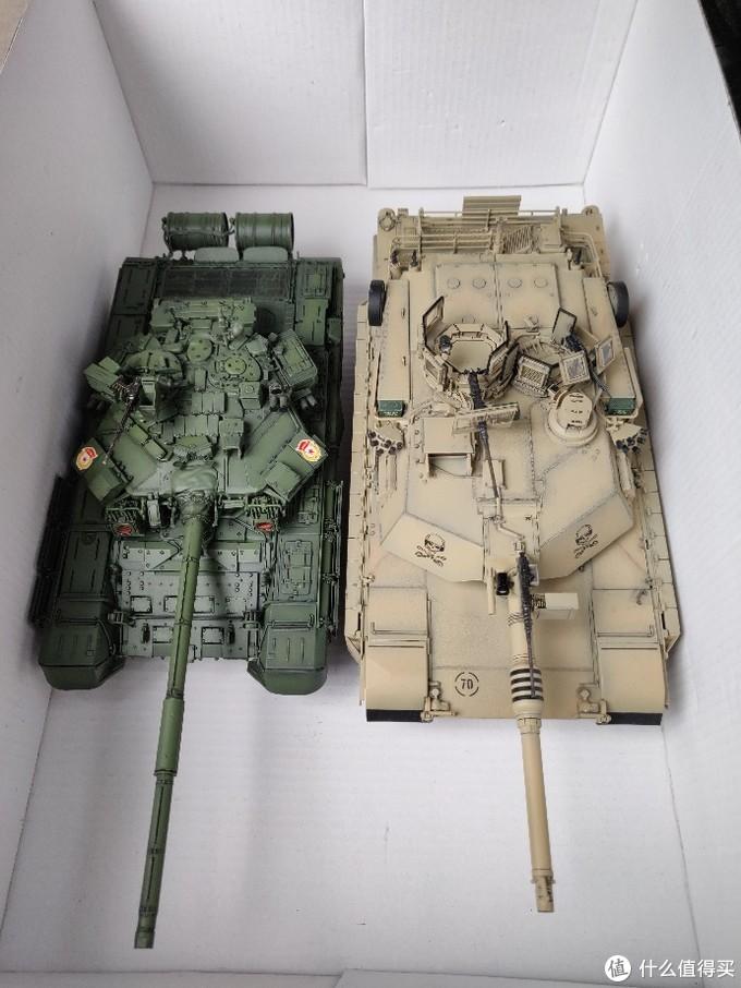 说到35比例得地面装备,一定绕不开T90和M1