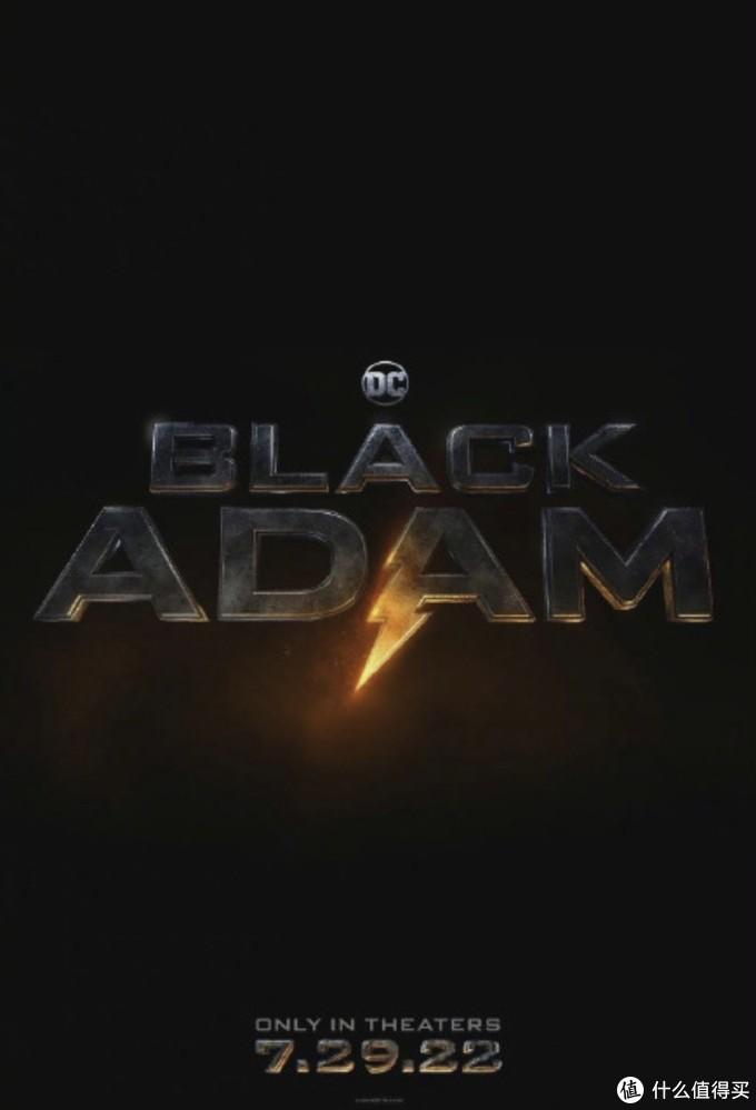 巨石强森主演,DC新片《黑亚当》北美定档2022年7月29日上映!