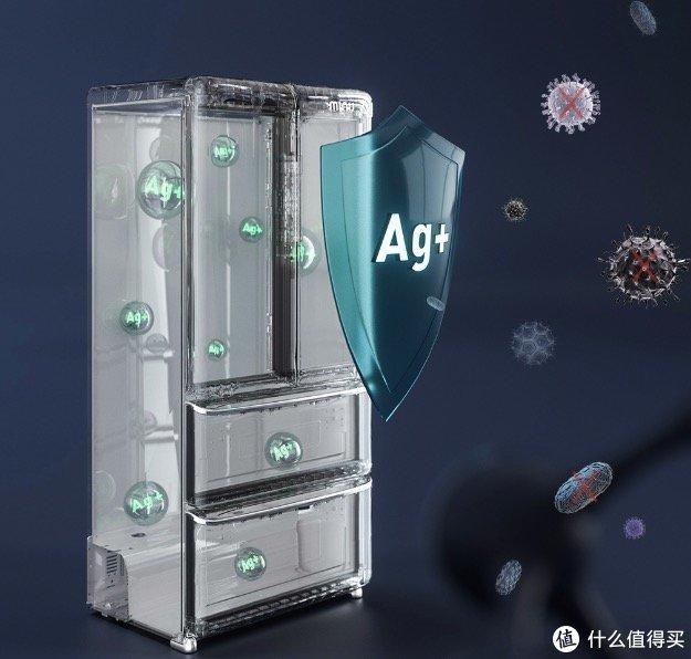 复古潮电,智能鲜囤,小吉发布448L法式冰箱