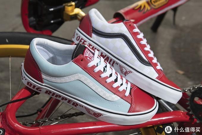 自行车X滑板:SE和VANS推出联名Style 36