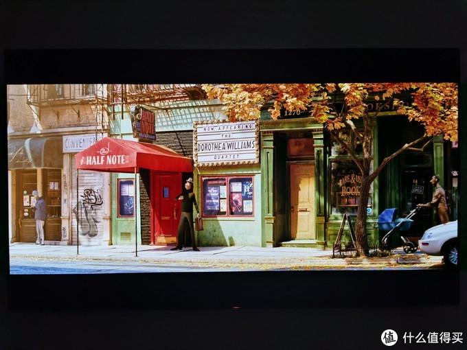 """索尼A90J图像模式设置为""""电影"""""""