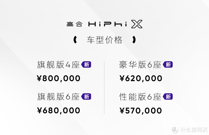 新车速递:高合Hiphi X发布4款新车 5月8日起交付