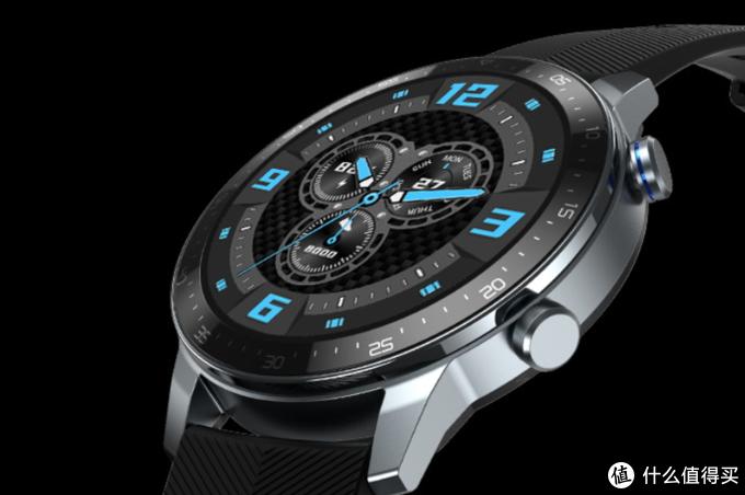 中兴还发布ZTE Watch智能手表,血氧监测、23天续航、还有足球运动模式