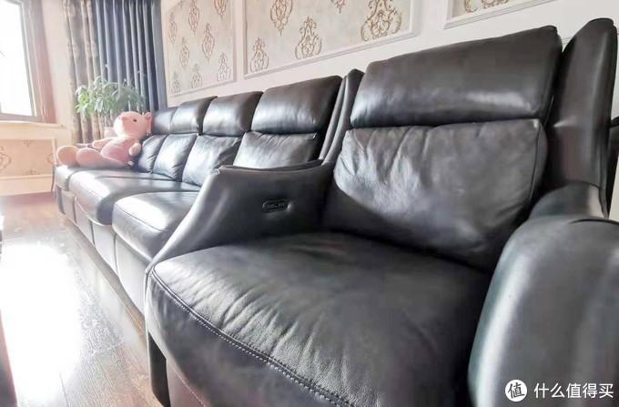 芝华士头等舱沙发,宅家必备,解放你的双脚