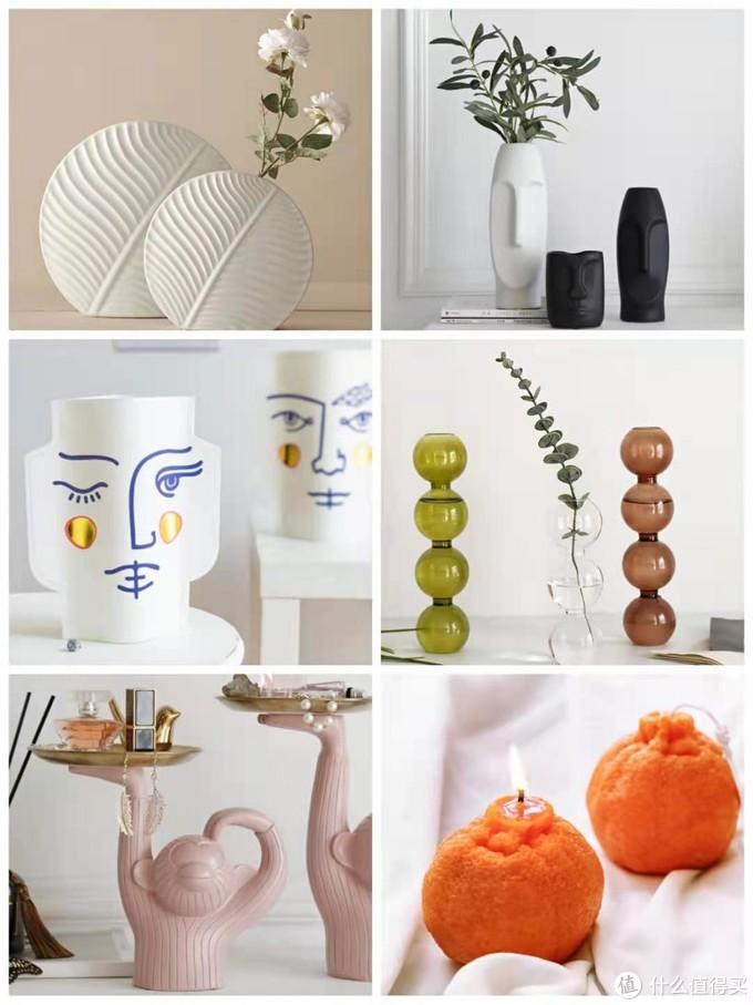 6家1688阿里巴巴软装家居店铺分享!花瓶、玻璃杯、摆件、香薰蜡烛、挂画全都有!快收藏吧!