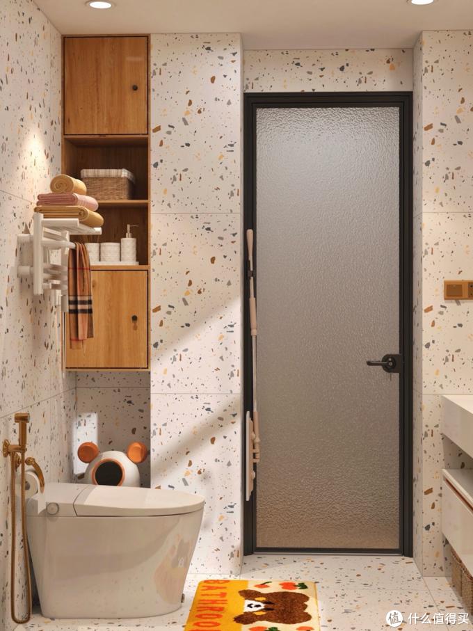 学习日剧里的卫生间,塞下花洒和浴缸