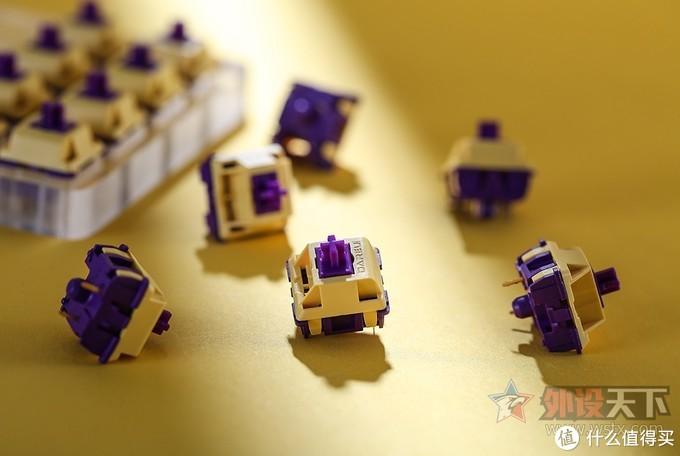 达尔优推出全新自主机械轴体:天空轴、紫金轴
