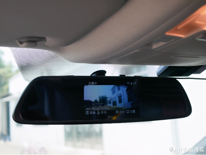 行车记录仪就应该双摄像头,被渣土车刮擦后,我买了70迈A500S