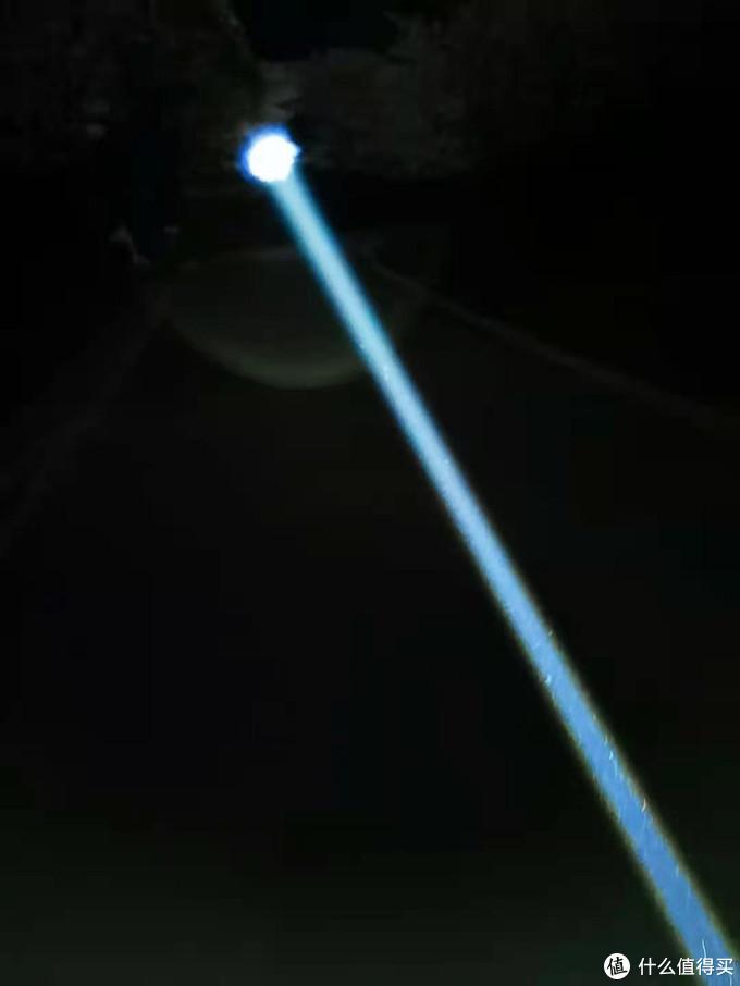 2300米远射 捷特明RRT-M1X 白激光手电体验。。。