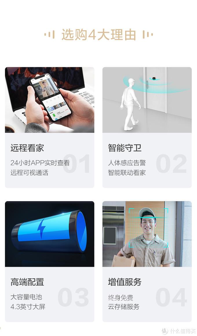 丹米尼S8新款WIFI智能猫眼--颜值与实用并存!小何先生推荐!!