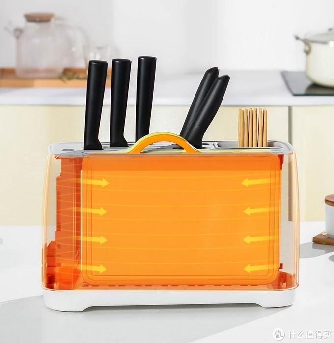自从有了这个智能刀筷杀菌架,每次做饭感觉都更香了!