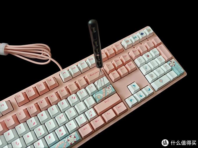 俘获老夫的少女心,萌物二次元,ikbc狐樱机械键盘体验