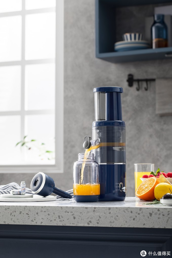 摩飞气泡原汁机:纯正果汁鲜爽畅饮无添加,给健康生活打个气!