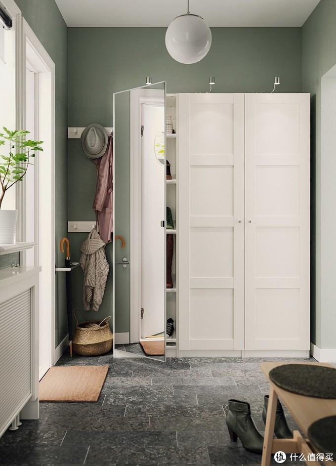 BERGSBO 伯尔思波——时尚现代的四镶板柜门(图来自官网)