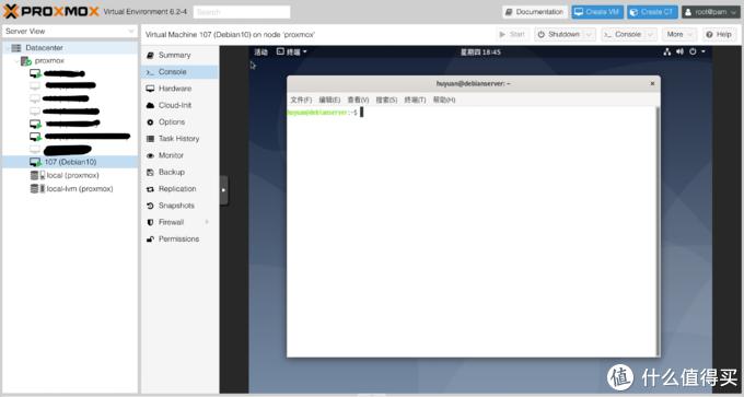 虚拟化环境中安装Debian 10