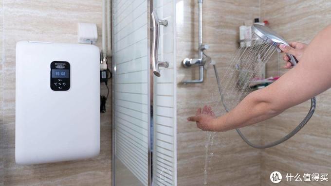 饮用水合格了,生活用水你进阶了么?让沐浴更舒适的怡口美妍沐浴软水机上手