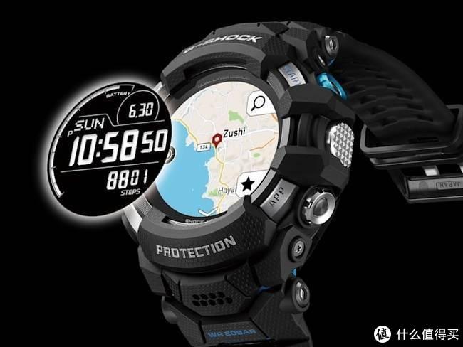 卡西欧推出彩屏G-Shock,也是卡西欧史上首支Wear OS智能手表!