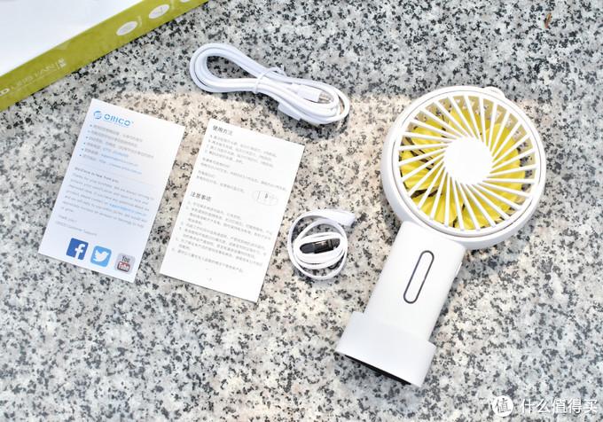 把风扇装进小包包里,清凉解暑的ORICO桌面式手持风扇体验