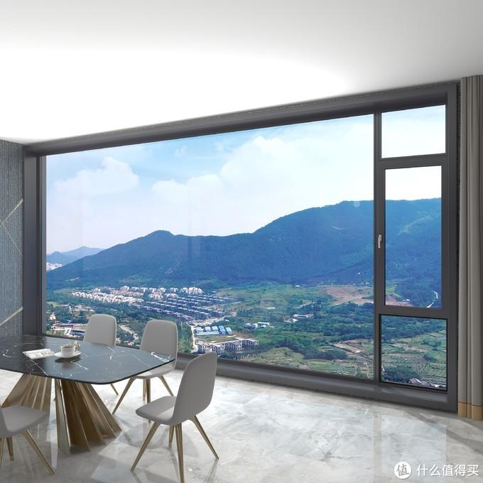 小户型客厅怎么装显更大?客厅阳台打通后,看着比邻居家大20㎡!
