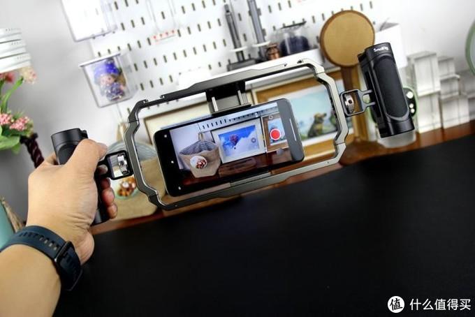 让手机变身专业视频拍摄工具—斯莫格手机兔笼套装体验