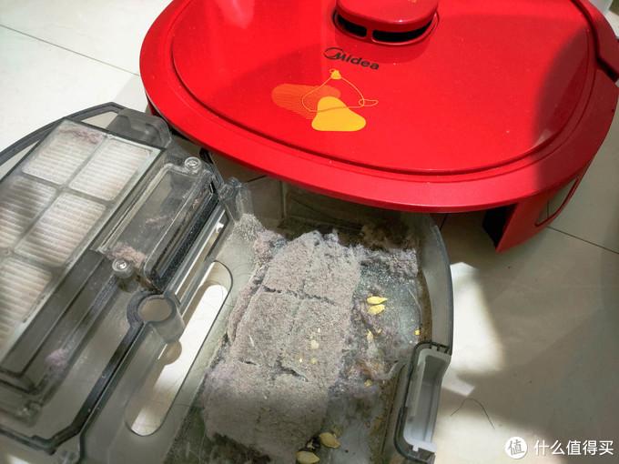 扫拖机器人也牛年定制 美的M63深度测评