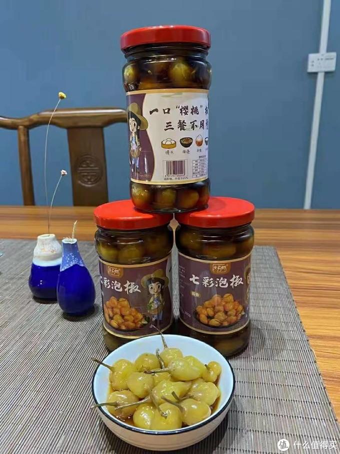 广西横县巧膳食品有限公司-酱香七彩泡椒