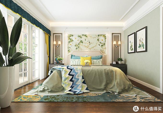 买房的时候买一层送一层,装完后,她家宽敞舒适又温馨,很有品味