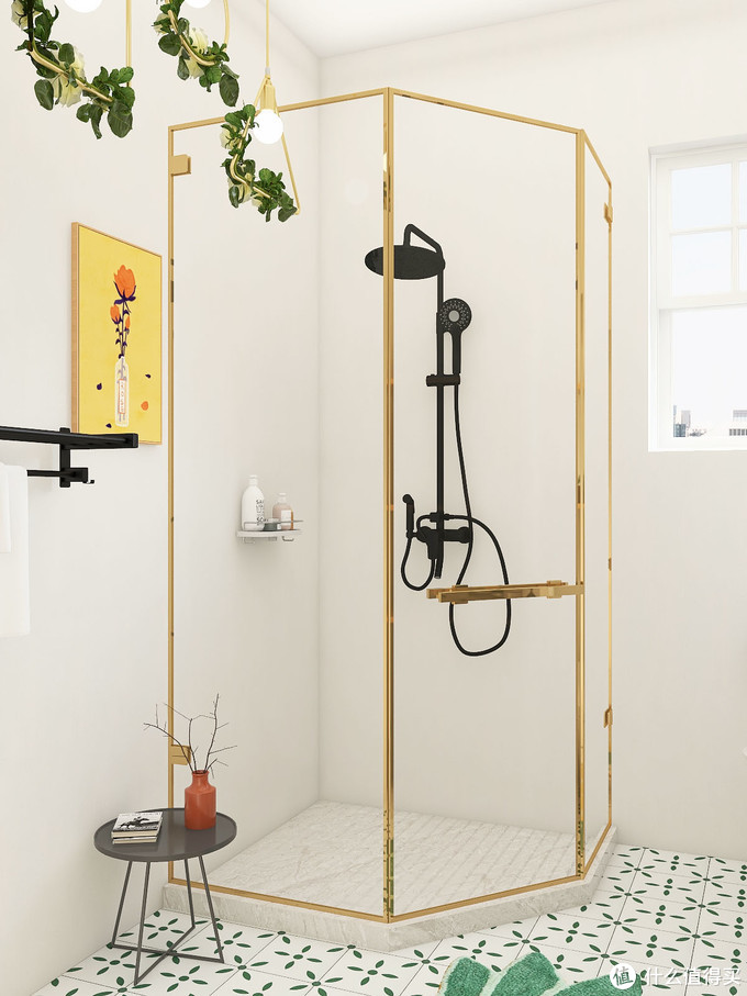 扑面而来的小清新,把春日元气装进浴室