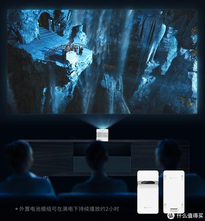 首款国产1080P超短焦投影来了, 轻量化机身,外置模块设计